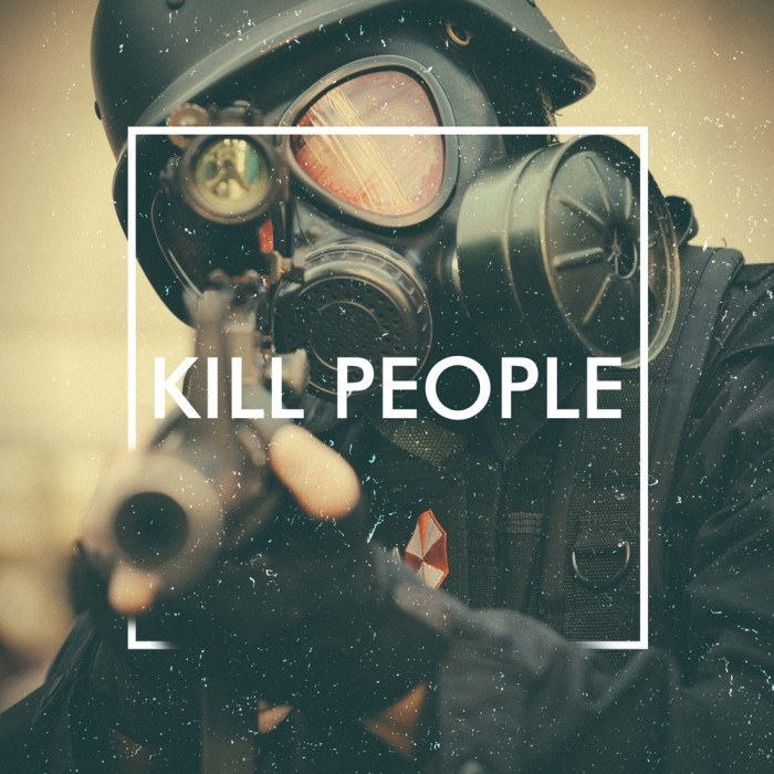 Kill People by The Human Animal; Part of The USA Project