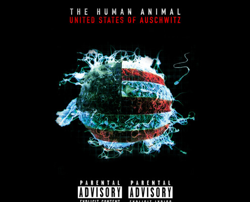 The Human Animal - United States of Auschwitz, Album Cover by The Human Animal