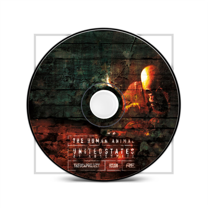 United States of Auschwitz, CD Design by The Human Animal