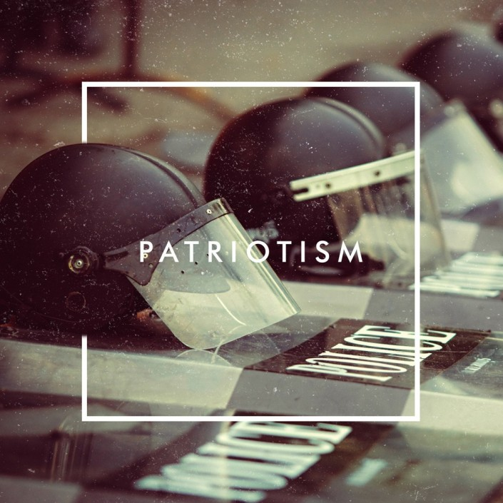 Patriotism by The Human Animal; Part of The USA Project