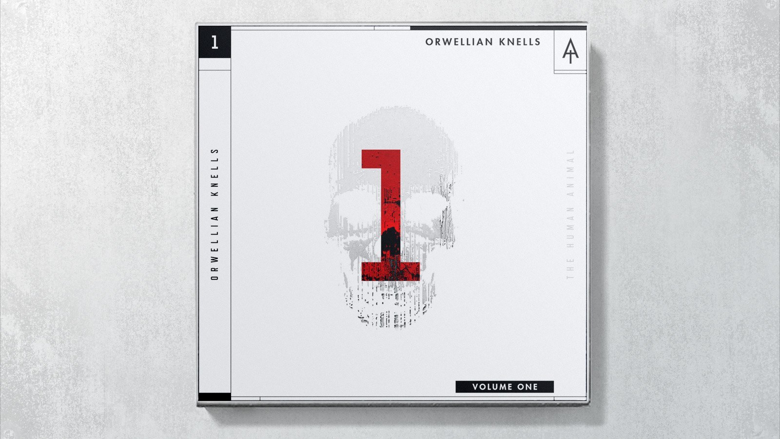 The Human Animal - Orwellian Knells // Album Art + Design