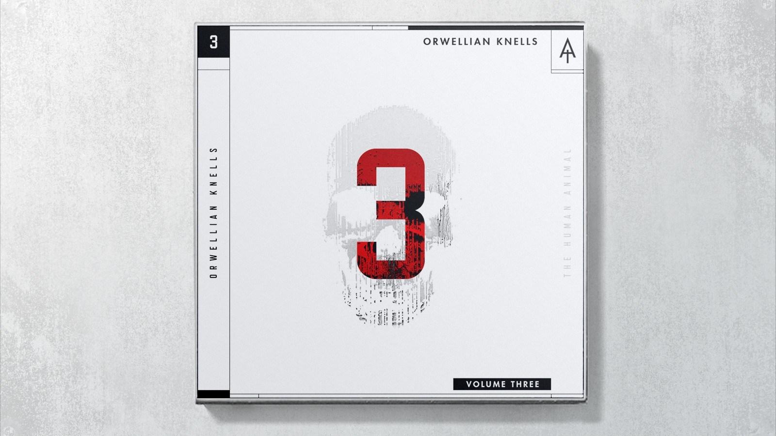 The Human Animal - Orwellian Knells // Album Art + Design