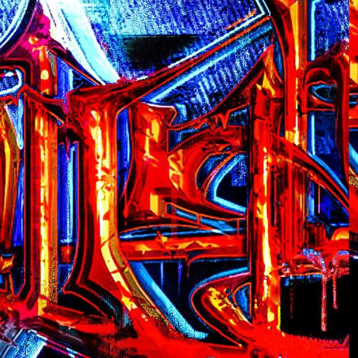 XNIMAL - The Human Animal Graffiti - Detail